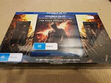 The Dark Knight Rises Blu-ray + DVD w/ Collectible Batman and Bane Figurines