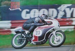 A Motorcycle Poster A3 Size (42cm x 30cm) 750 Kuhn Norton Racer - Alan Cathcart