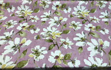 Jeunesse Hillside Lavender White Flowers Swavelle Mill Creek Fabric By The Yard