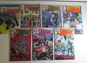 Shadowman Lot of 7 #4,12,14,16,17,18,19 Valiant (1992) 1st Series Comics