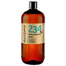 Naissance Huile Végétale de Macadamia - 1 litre - 100% pure et naturelle