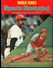 Sports Illustrated 1975 Cincinnati Reds vs. Boston Red Sox No Label Excellent