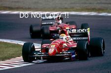 Pierluigi Martini & JJ Lehto Scuderia Italia Dallara F1 saison 1992 photographie