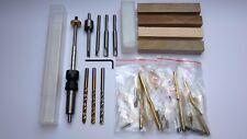 Pen Kits Starter Set MK2, Pen Blanks, Drechselholz, Bausatz Kugelschreiber, Kit
