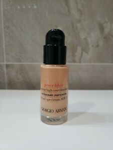 BN Giorgio Armani Power Fabric Long Wear Foundation #4.25. TRAVEL SIZE 18ml.