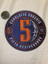 Charlotte Bobcats Fifth Anniversary Patch