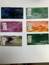 Youghiogheny Stained Glass Samples - Assorted 12 Count