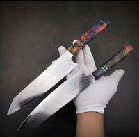 JAPANESE 8 INCH 67 LAYER DAMASCUS CHEF KITCHEN KNIFE RESIN HANDLE SANTOKU ⬇