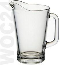 1,8 Glas Bier Pitcher Karaffe Glaskrug Saftkrug Bierpitcher Bierkrug Krug Griff