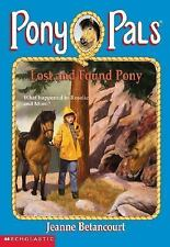 Lost and Found Pony - Pony Pals #29 - friend and horse get lost on trail ride