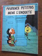 MARECHAL PRUDENCE PETITPAS MENE L'ENQUETE EO 1962 COLL. Jeune Europe n° 16