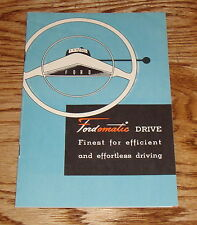 1951 Ford Fordomatic Drive Sales Brochure 51