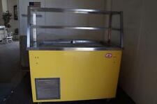 Shelleyglas Mobile Self Contained Cold Pan Serving Counter Cafeteria Style