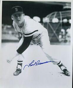 Frank Baumann (Deceased) 1955-1959 Boston Red Sox Autographed 8x10 Photo COA