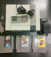Nintendo NES System Gray Console NEW 72 Pin Installed with Mario 1 2 3 GUARANTEE