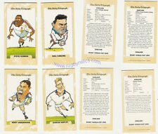 ENGLAND 1995 RUGBY WORLD CUP DAILY TELEGRAPH SUBSET OF 25 CARDS