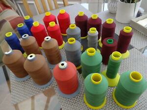 JOB LOT THOUSANDS METRES x COBS UPHOLSTERY/INDUSTRIAL M36 SEWING MACHINE THREAD