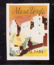 1934 Mesa Verde National Park, Colorado Poster Stamp