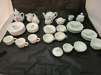 Childs Tea Set Mixed Lot of 39  Replacement Japan, China, Unmarked Some Vtg?