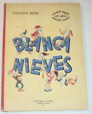 BLANCA NIEVES Y LOS SIETE ENANITOS, 1950 SPANISH ED. of SNOW WHITE - ILLUSTRATED