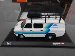 Code 3 1:43 IXO Ford Transit Mk2 Rally Assistance van 1980