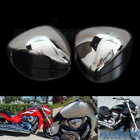 2x Motorcycle Intake Air Filter Cleaner Cover For Suzuki BOULEVARD M109R VZR1800