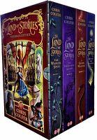 The Land of Stories Collection Chris Colfer 4 Books Box Set Enchantress Returns