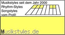1600 SONG Styles für Yamaha Tyros 4 & Tyros 5 Download oder USB-Stick