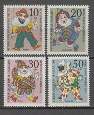 Briefmarken Germany 1970 Christmas Marionettes Puppet Greetings Animation 1v Mnh