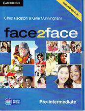 CAMBRIDGE face2face Pre-Intermediate B1 SECOND EDITION Class Audio CD's @NEW@