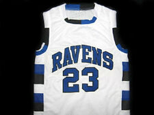 354957781365 NATHAN SCOTT  23 ONE TREE HILL RAVENS BASKETBALL JERSEY WHITE - ANY SIZE
