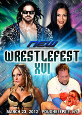 NEW Wrestling: Wrestlefest XVI DVD Melina John Morrison Velvet Sky TNA WWE Divas