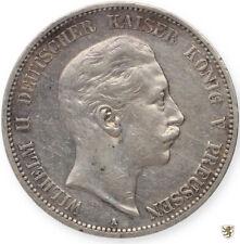 PREUSSEN, Wilhelm II., 5 Mark, 1908 A, Jg. 104, sehr schön