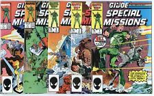 G.I. Joe Special Missions #1 - 28  Complete Run  avg. NM 9.4/9.6  Marvel  1986