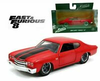 JADA 1:32 DOM'S CHEVY CHEVELLE SS FAST AND FURIOUS DIECAST MODEL CAR TOY GIFTS