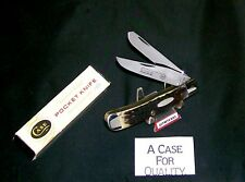 Case XX 6254 Knife SFO Trapper Sportsman's Wildlife Club 1983 W/Original Package