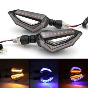 LED Motorcycle Turn Signal Light Indicators Blinker For Suzuki Boulevard GSX-R