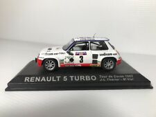 1:43 Car Model Renault 5 Turbo 1982 in Display Case Rally