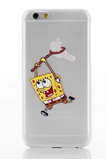 COVER custodia Rigida SPONGEBOB per IPHONE 5 - 5S + PELLICOLA OMAGGIO
