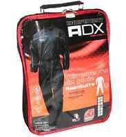 Combinaison De Pluie ADX Noir  moto Ceinture ajustable Avec  Sac de transport