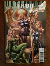 Ultimate Thor 1 (2010) – Incentive 1:50 J Scott Campbell Variant Cover NM-