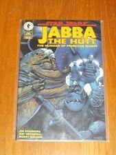 STAR WARS JABA THE HUTT HUNGER OF PRINCESS NAMPI #1 NM (9.4) DARK HORSE COMICS*