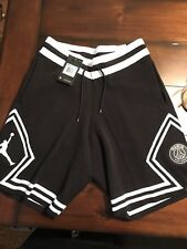 Men's Jordan Saint Paris Germain PSG Diamond Knit Shorts Size M BNWT BQ4226-010