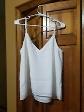 Asos Womens White Cami Camisole Top size 8