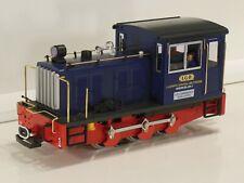 LGB 2062 Diesel Works Locomotive LGB No 1 Blue livery. Mint boxed.