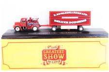 Camion Circo Scammer Highwayman & Dodgem Trailer 1:76 Atlas Circus (n.120)