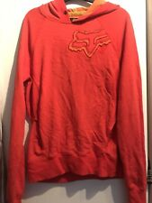 Ladies Fox Rider Racing Hoody Orange Mx Casual Motocross Girl Women Pullover Ktm