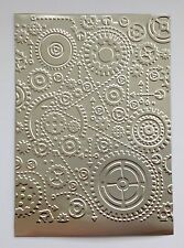 Steampunk Gears - Embossed Stamping Foil Panels (Silver)