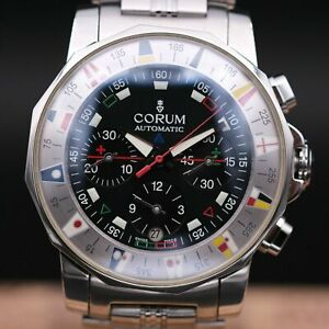 AUTHENTIC CORUM ADMIRAL CUP CHRONOGRAPH  44MM REF 985.630.20,