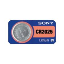 1 SONY CR2025 DL2025 CMOS Lithium 3V Watch Battery Exp 2025 Ships FREE from USA!
